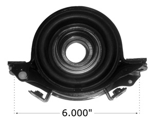 Drive Shaft Center Support Bearing 1990-1996 Infiniti Q45